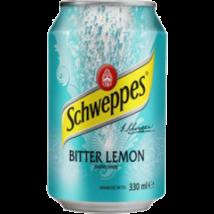 SCHWEPPES BITTER LEMON CITROM ÍZŰ ÜDÍTŐITAL 0.33 L