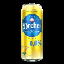 DREHER 24 CITROM ALKOHOLMENTES SÖR 0,5 L