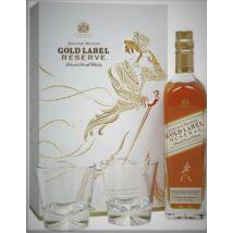 JOHNNIE WALKER GOLD LABEL RESERVE DD + 2 POHÁR 0,7 L