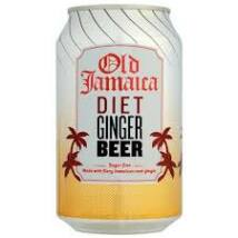 OLD JAMAICA GINGER BEER LIGHT CUKORMENTES GYÖMBÉRSÖR 0,33 L