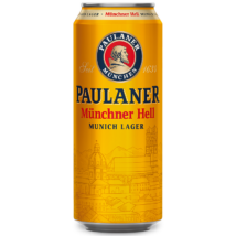 PAULANER MÜNCHNER HELL VILÁGOS NÉMET SÖR 0,5 L