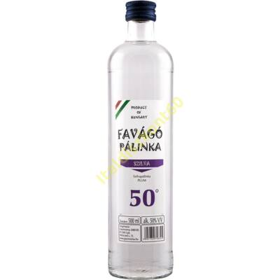FAVÁGÓ SZILVA PÁLINKA 50% 0,5 L