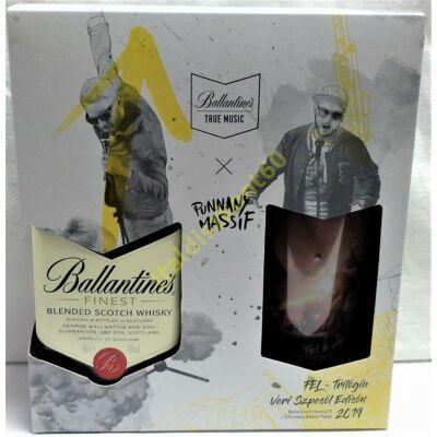 BALLANTINE'S FINEST BLENDED SCOTCH WHISKY PDD + POHÁR 0,7 L
