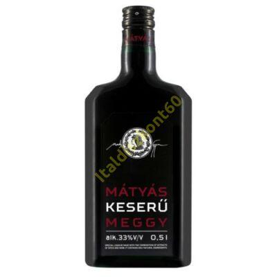 MÁTYÁS KESERŰ MEGGY LIKŐR 0,5 L