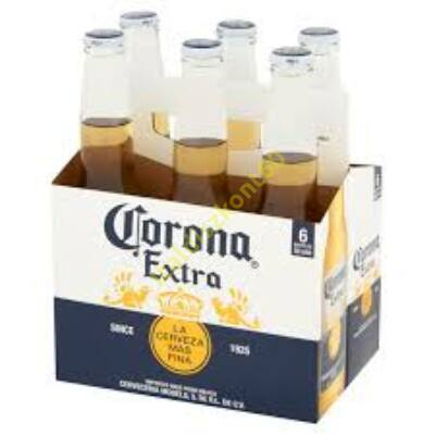 CORONA EXTRA MEXIKÓI VILÁGOS SÖR 6 x 0,355 L