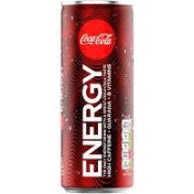 COCACOLA ENERGY ÍZESÍTETT SZÉNSAVAS ENERGIAITAL 0.25 L