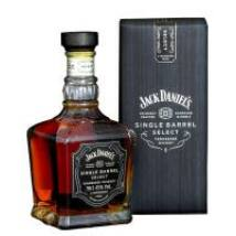 JACK DANIELS SINGLE BARREL SELECT WHISKY DD 0,7 L