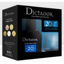 DICTADOR 20 YEARS RUM PDD + 2 POHÁR 0,7 L