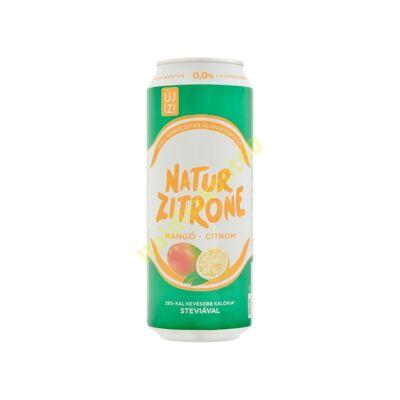 GÖSSER NATUR ZITRONE ALKOHOLMENTES MANGÓ-CITROM 0,5 L