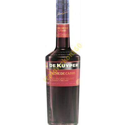DE KUYPER CASSIS FEKETERIBIZLI LIKŐR 0,7 L